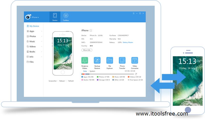 iTools iOS 11.3