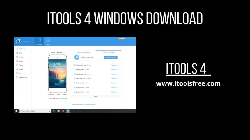 iTools 4 Windows Download
